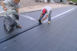 Ethylene Propylene Diene Monomer (EPDM) Roofing Is Commonly Known As Rubber  Roofing.