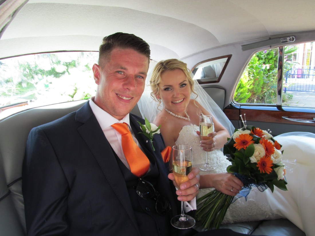 Bride & Groom Wedding Car Hire in Gillingham, Kent