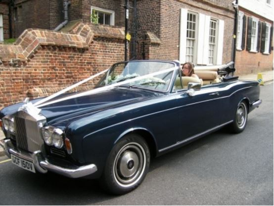 Wedding Cars for Hire Gillingham, Kent, Medway & Maidstone Areas