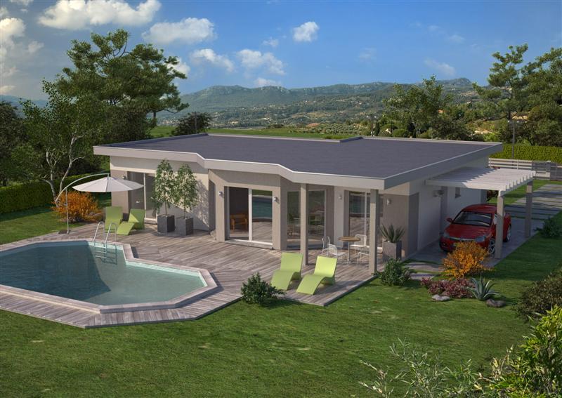 Berühmt Modele Maison Toiture Terrasse. Finest Projets Et Ralisations De  PQ54