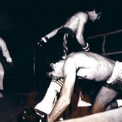 Ramdane vient de mettre son adversaire au tapis à Pouchet.