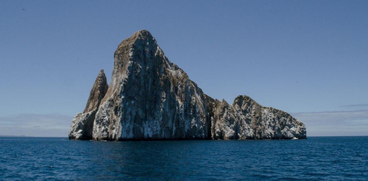 Kicker Rock from San Cristobal