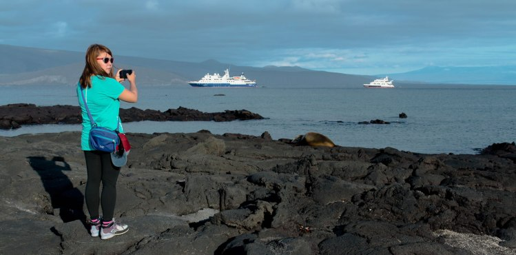 Viajar por Galapagos en Crucero y tours diarios