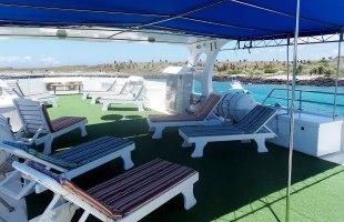 Angelito Yacht sun deck