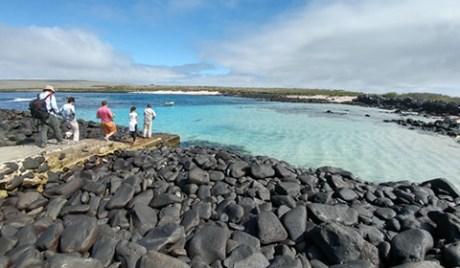 Isla Española en la Isla Galapagos