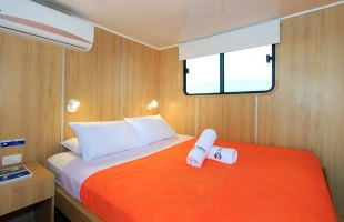 Double cabin on Aqua Yacht