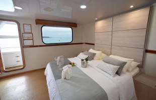 Matrimonial cabins on Seaman Catamaran