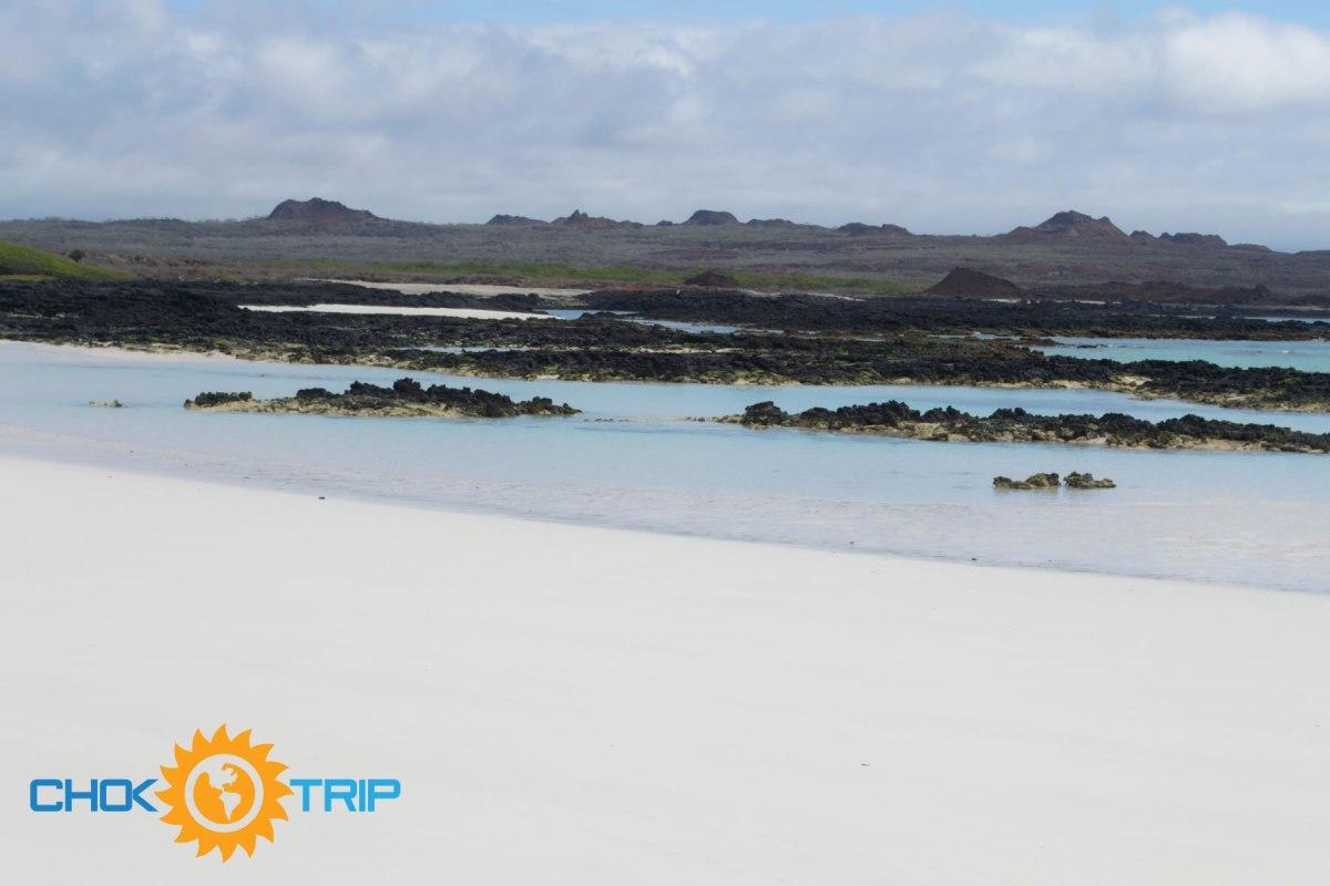 Playa de Bahía Rosa Blanca y sus contrastes