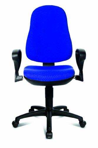 Topstar Support 8540S G26 – Silla oficina con reposabrazos color ...