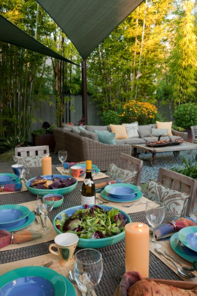 Entertaining on your patio