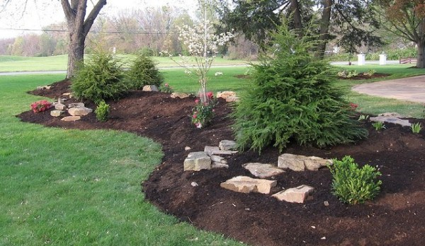 protect your landscape berm