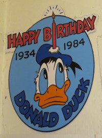 Kates Disney Closet: Disneyland Donald Duck 50th Birthday
