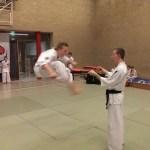 hendrik double kick