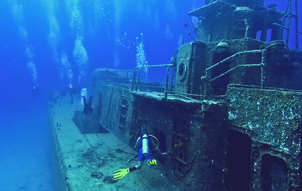 Scuba Dive Training