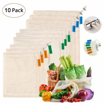 Product Bags to eliminate plastic when you go grocery shopping