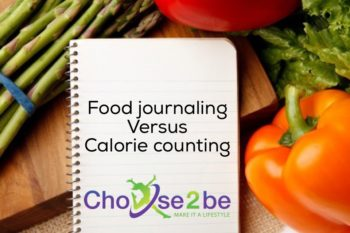 Food journaling versus calorie counting