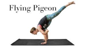 Vinyasa Yoga Class, lesson plan Class 18: Flying pigeon