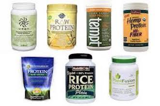 Vegetarian Protein Powders