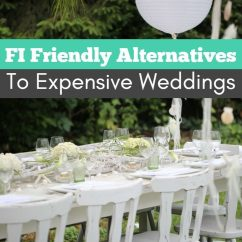 Chair Cover Alternatives Wedding Trailer Hitch Swing Fi Friendly To Expensive Weddings Choosefi Other Easy Ways Cut Costs