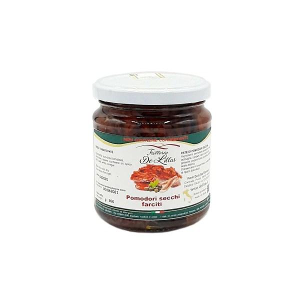Pomodori Secchi Farciti – 270 Gr – Fattoria de Lillas