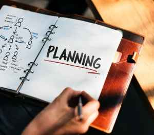 Pack your office with a plan and notes