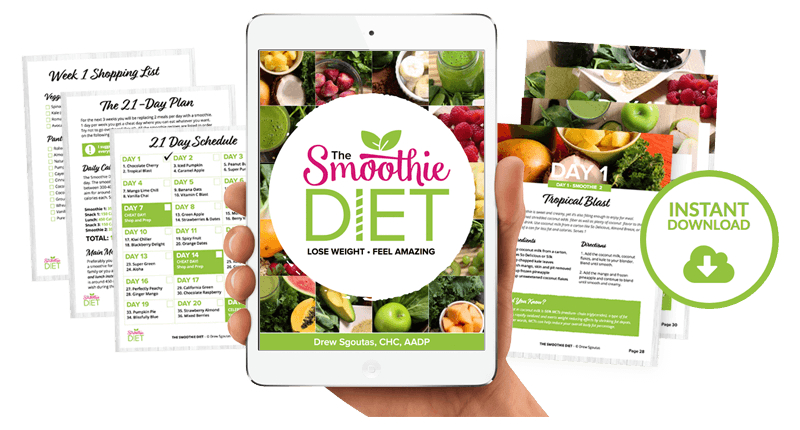 21 Day Smoothie Diet Program To Lose Weight Choose Smoothies