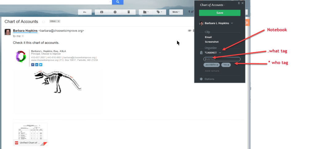 Evernote Web Clipper & Clipping Email