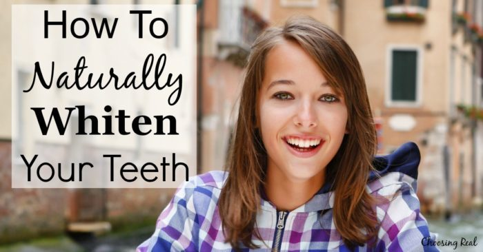 With all of the harsh chemicals on the market, it is nice to know there are some safe and effective ways to naturally whiten your teeth.