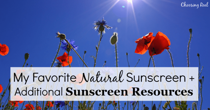The chemical-free, organic sunscreen I have used with my family has also been recommended by one of my favorite healthy living blogs!​
