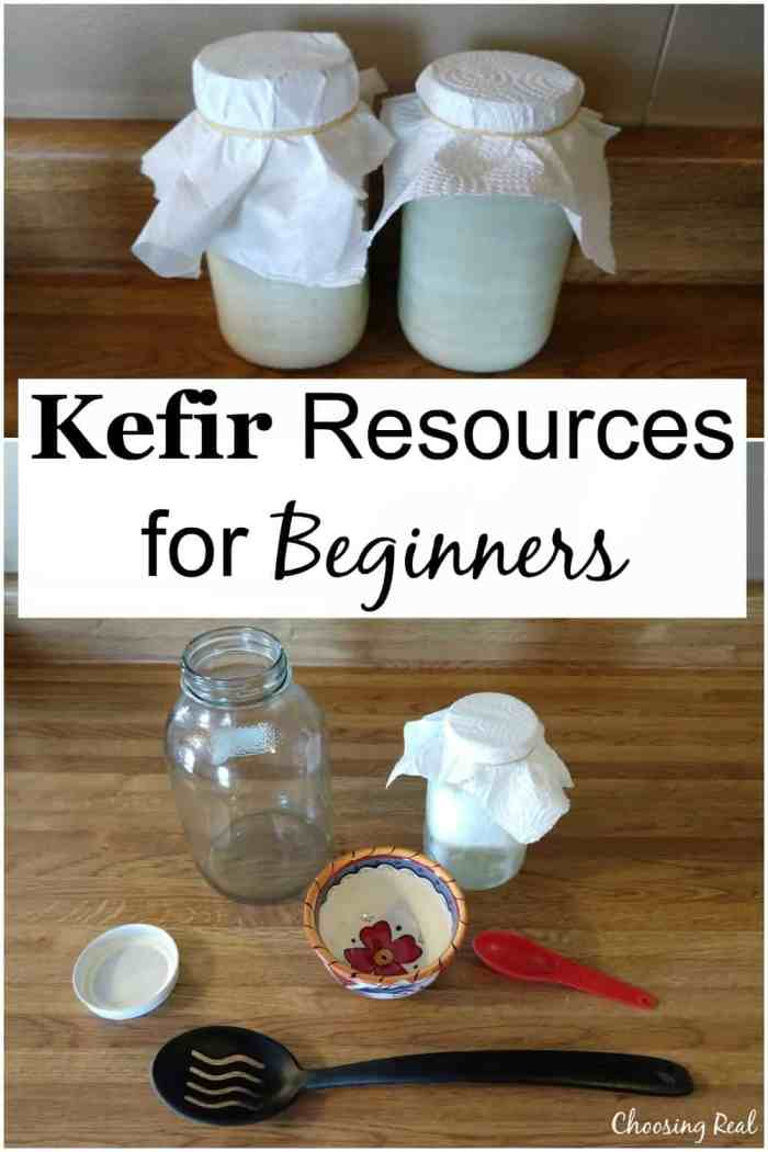 I am not an expert at making milk kefir. So I sought out milk kefir resources from people who have way more experience than I do.