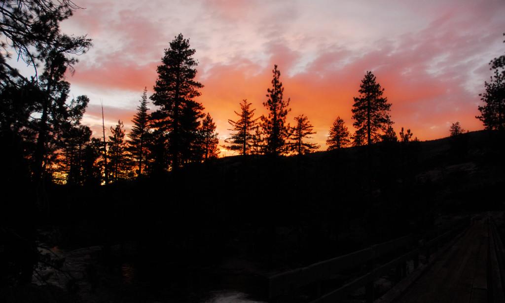 Sunset - bridge