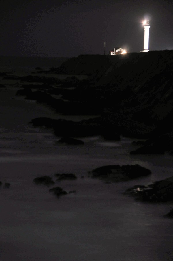 Point Arena at night