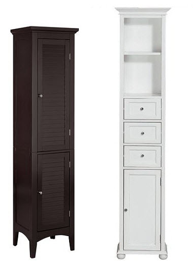 Storage Drawers: Narrow Bathroom Storage Drawers