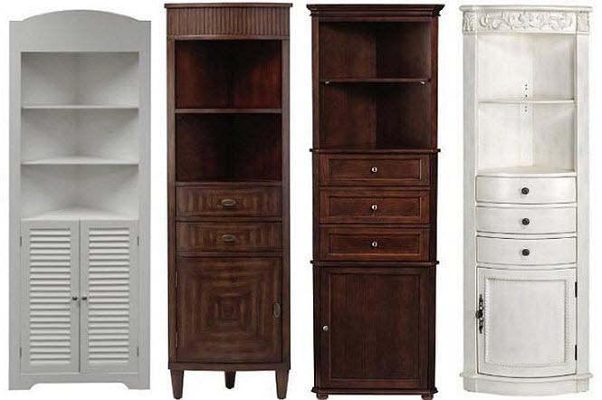 Bathroom Corner Storage Cabinets
