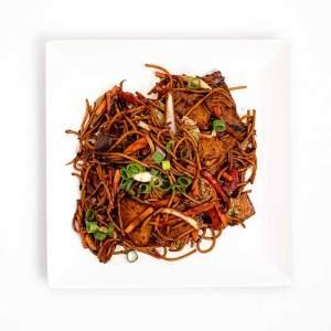 Sertés wok