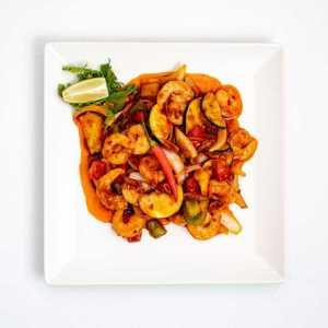 Citromfüves chilis garnélarák