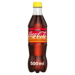 Coca-Cola Zero citrom, 0,5 l