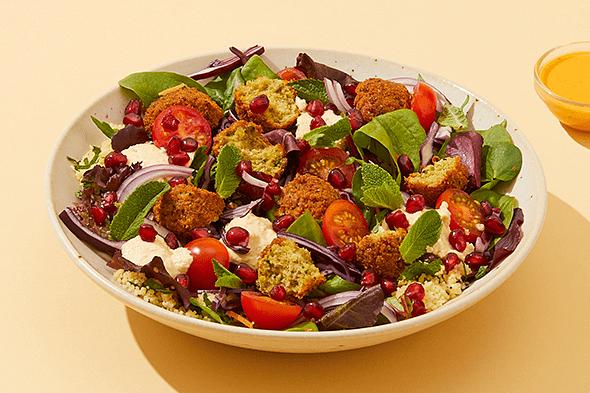 Falafel & Houmous Salad