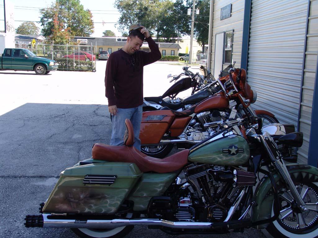 Chopper City USA Scotts Customized Road King