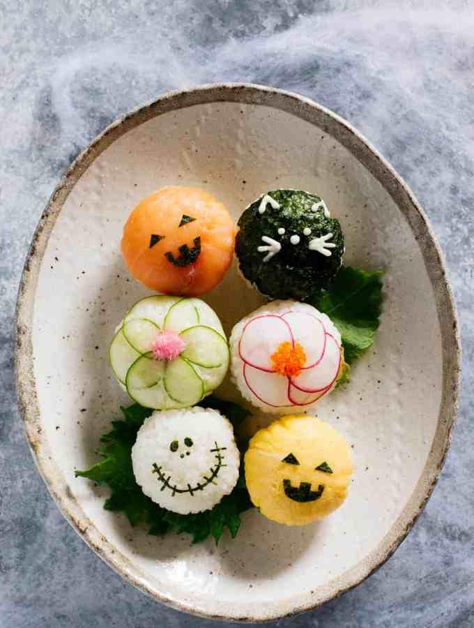 Halloween Temari Sushi