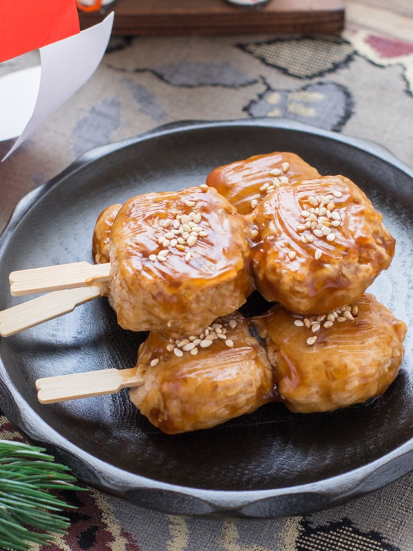 Tsukune Dango (Chicken Meatball Skewers) | Chopstick ...