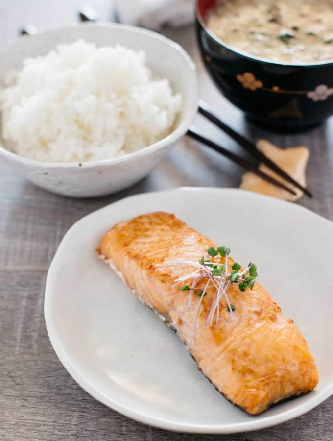 Shiozake Japanese salted salmon 塩じゃけ