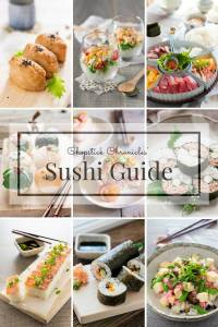 Chopstick Chronicles' Ultimate Sushi Guide 寿司ガイド