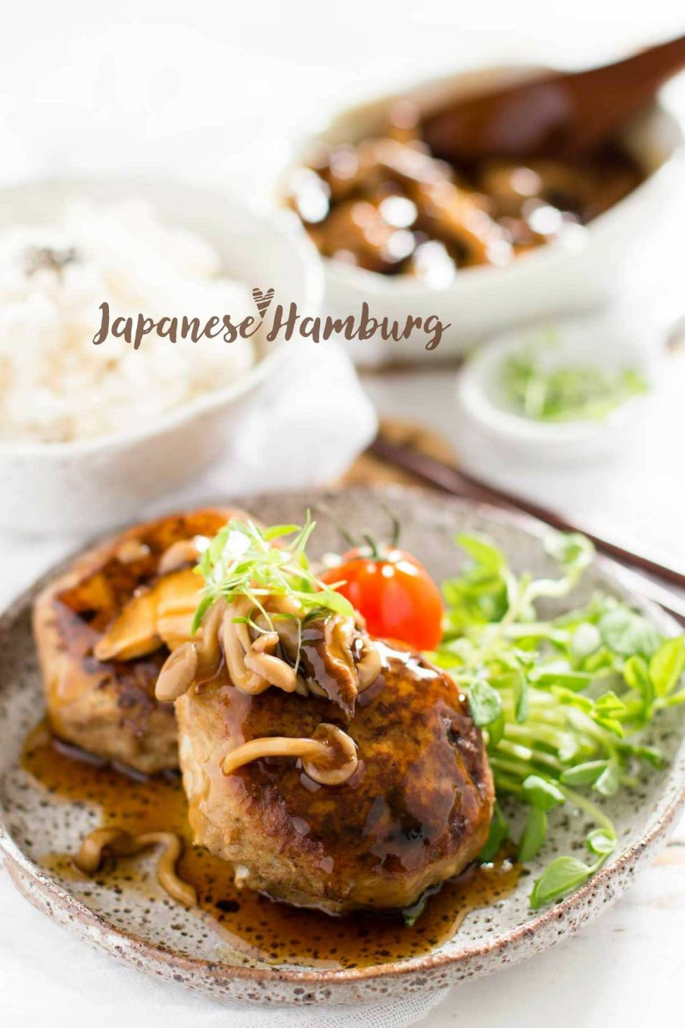 Japanese hamburg steak