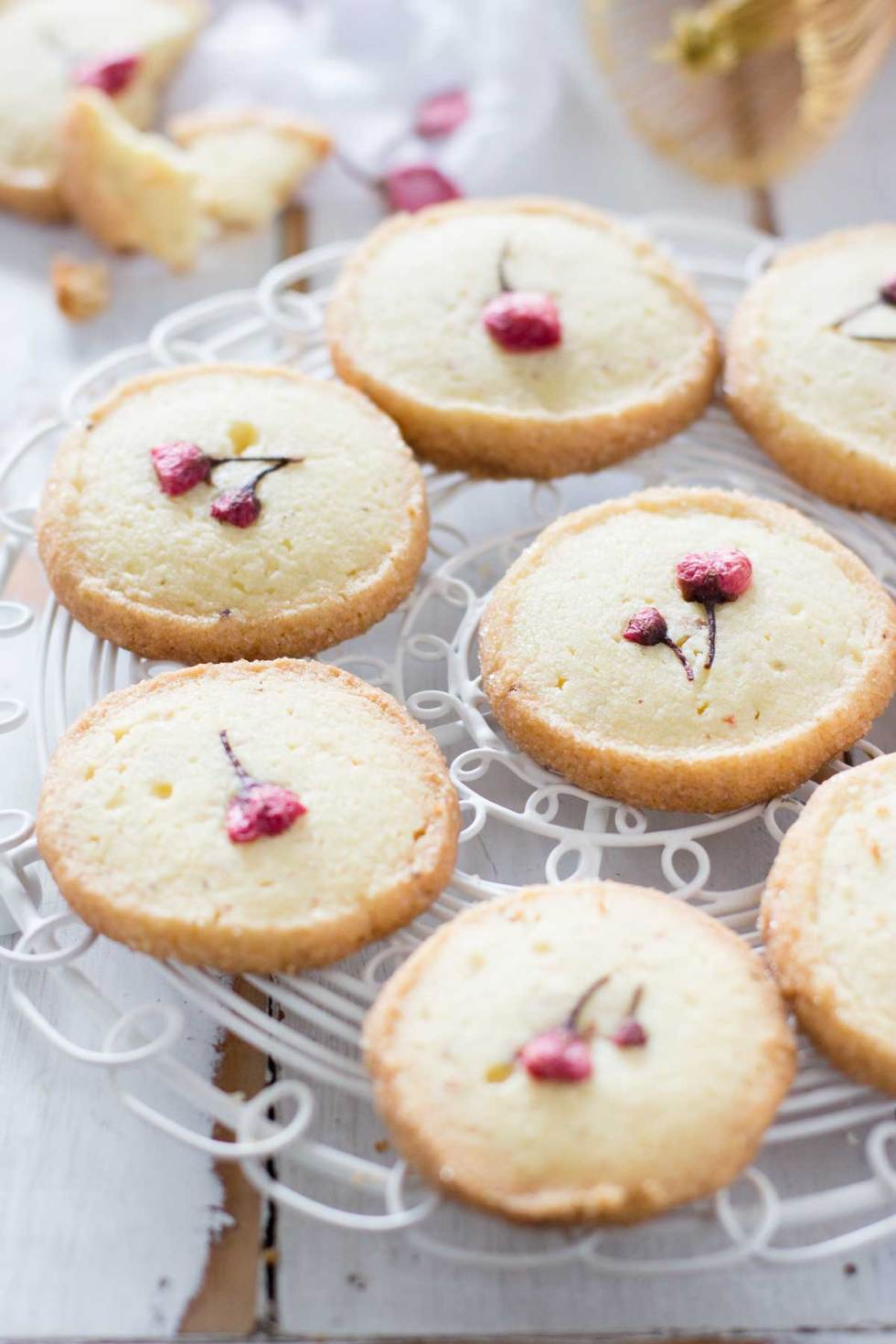 Sakura cookies