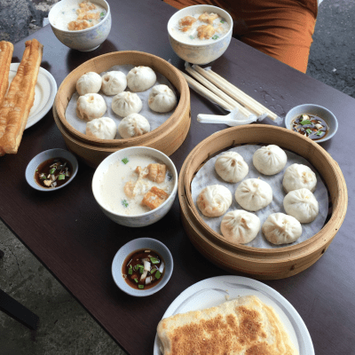 WHAT'S A TYPICAL BREAKFAST IN CHINA?