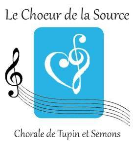 Logo de la chorale Le Choeur de la Source
