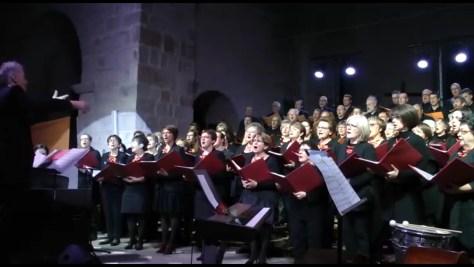 La Chorale de Saint Just Saint Rambert en l'église de Saint Rambert en 2014