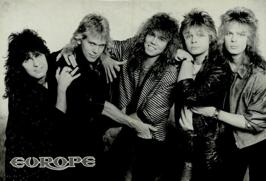 80s Bands European Top 25
