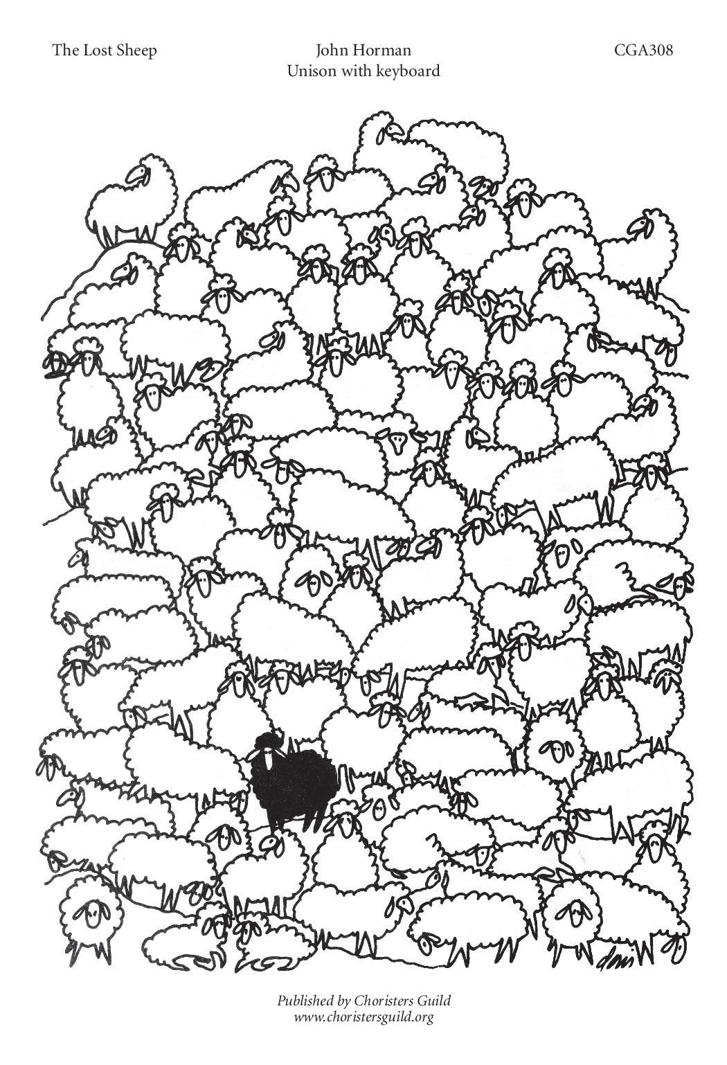 CGA308 The Lost Sheep